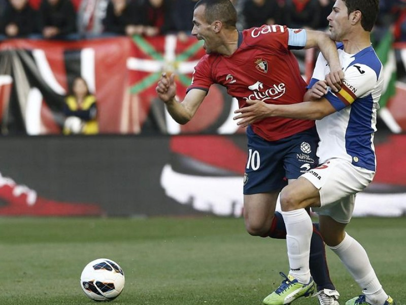 Patxi Puñal lleva más de 500 partidos como rojillo. Foto: EFE