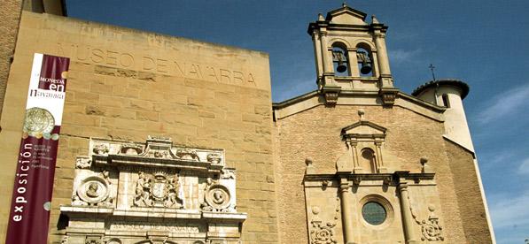 La fachada del Museo de Navarra
