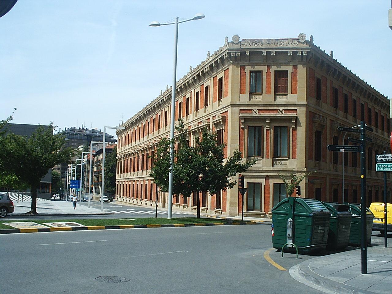 Calles de Pamplona. Foto: Wikipedia