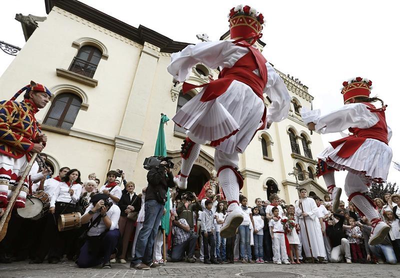 Fiestas de San Fermín Txikito 2014. Foto: EFE