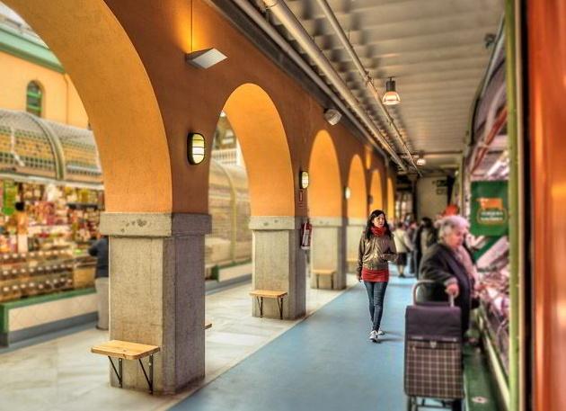 Mercado Santo Domingo en Pamplona. Foto: www.mercadosantodomingo.com