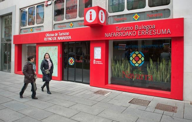 Oficina de turismo de Pamplona. Foto: navarra.es