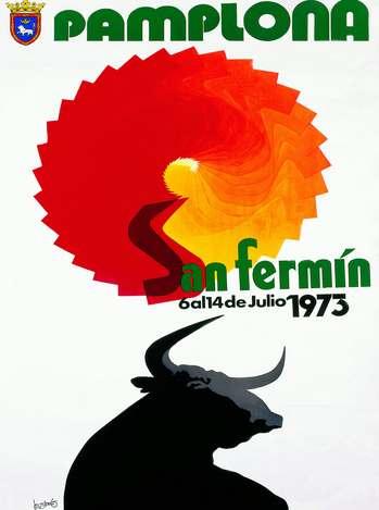 Cartel San Fermin 1973. Foto: sanfermin.com