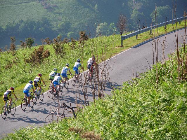 Vuelta ciclista a Navarra. Foto: eitb,eus