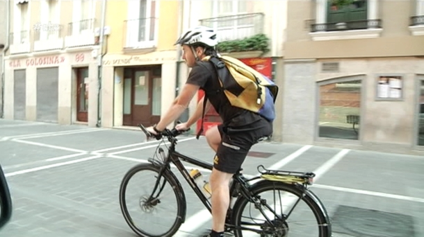En bicicleta por Pamplona
