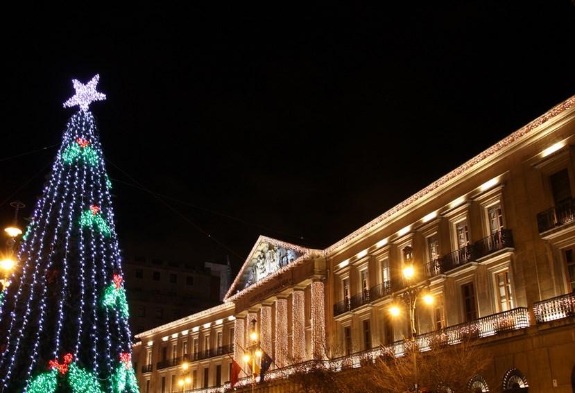 Navidad en Pamplona. Foto de 2014, de Mª Ángeles Albarran
