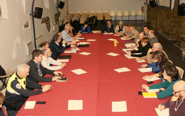 Reunión de la mesa del Casco Antiguo