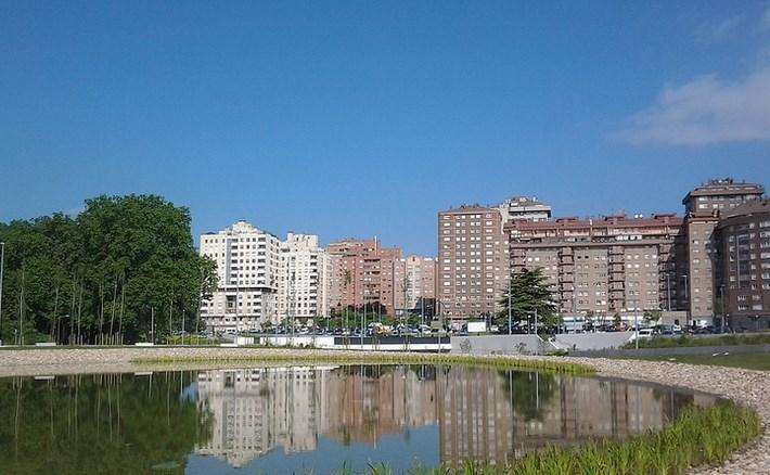 Parque de La Milagrosa. Foto: Jabier Gorostiaga