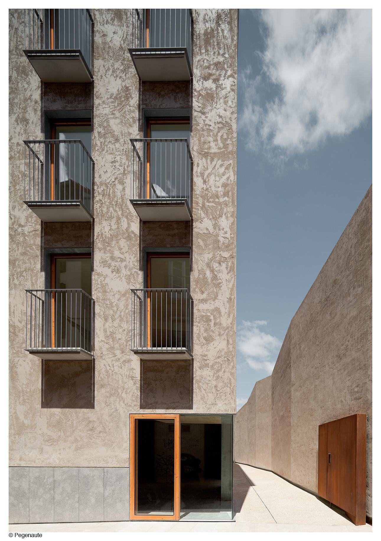Edificio calle Descalzos 24. Pamplona Foto: Ayuntamiento de Pamplona