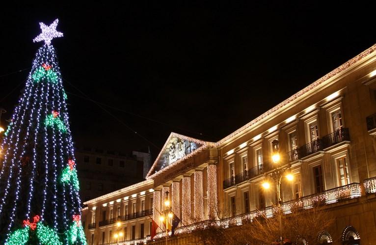 Navidad 2014 en Pamplona. Foto: María Ángeles Albarran
