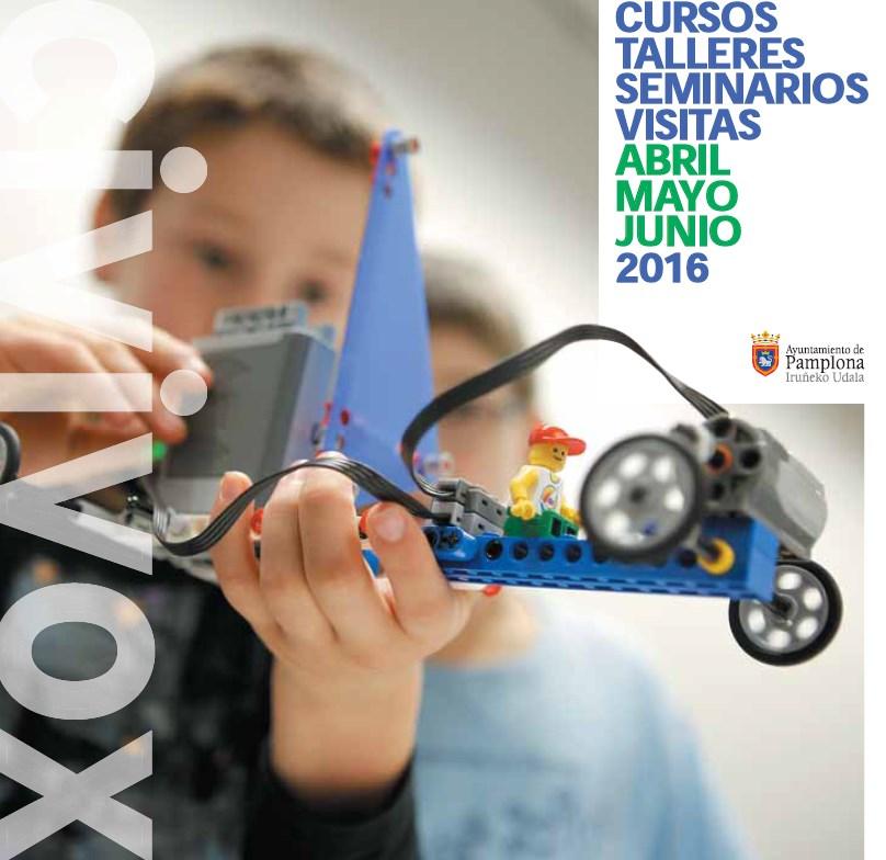 Programa cursos Civivox 2016. Foto: pamplona.es