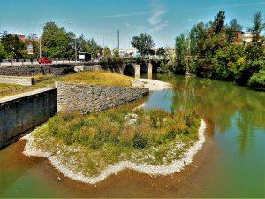 Puente de Cuatrovientos en la Rochapea. Imagen de archivo. Txelo Fernández.