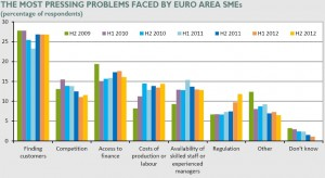 Pressing Problems Faced by Euro Area SMEs