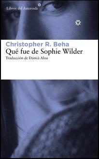 LIBRO.Qué fue de Sophie Wilder
