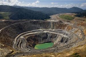 FOTO.En la mina