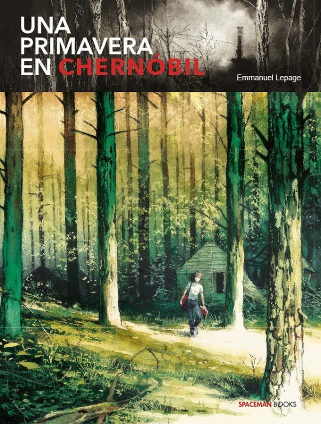 COMIC.una primavera en chernobil