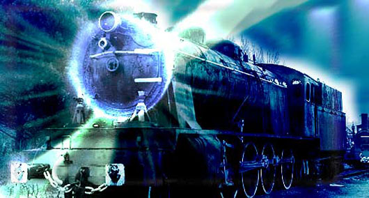 FOTO Tren fantasma