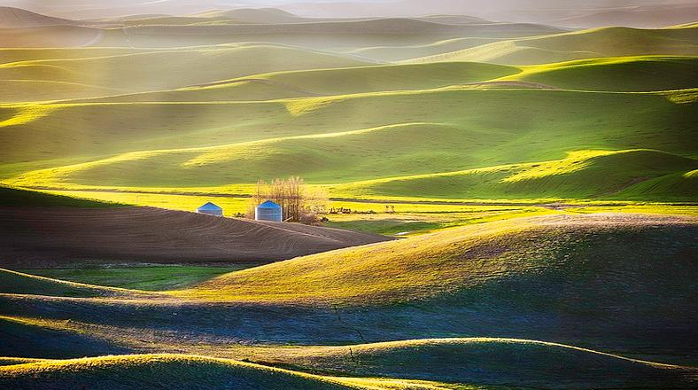 FOTO Un mar de colinas