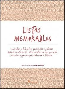 LIBRO Listas memorables