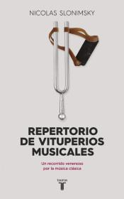 LIBRO Repertorio de vituperios musicales