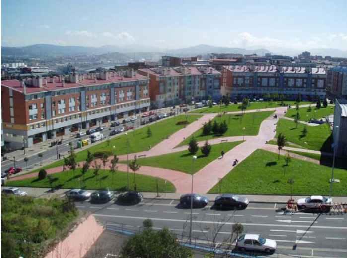 Parque de los Llanos. Foto: portugalete.org