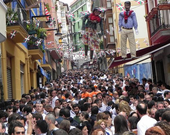 Fiestas de la Virgen de la Guía. Mariano Allende