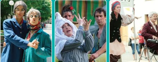 Teatro de calle en Portugalete