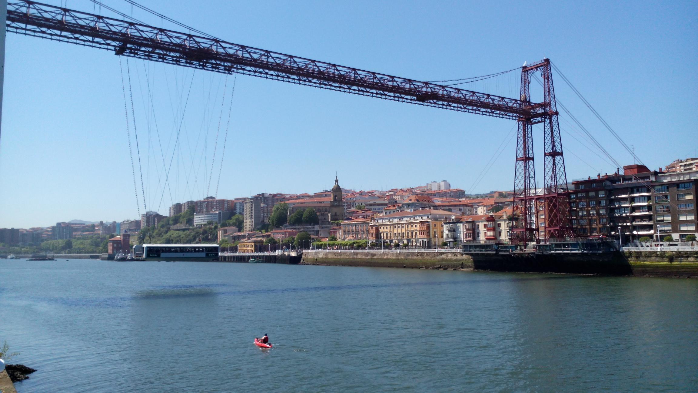 Puente Bizkaia. Imagen de archivo: EiTB