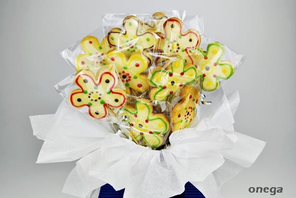 ramo de flores de galleta 4