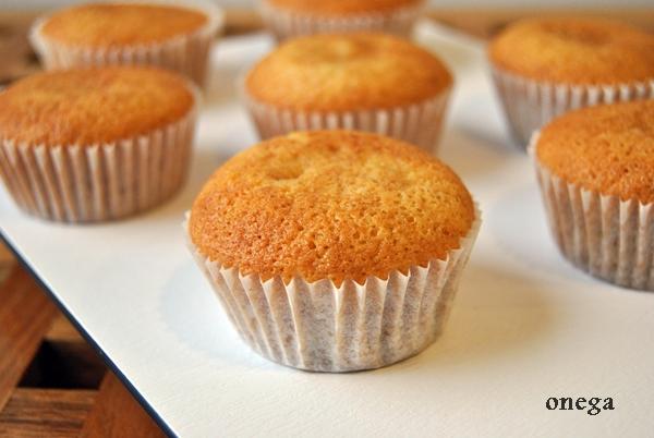 Cupcake básico de vainilla