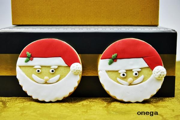 galletas cara de papá Nöel