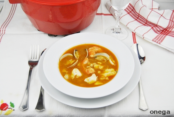Sopa de pescado tradicional