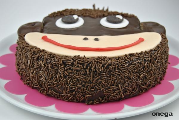 tarta carita de mono1
