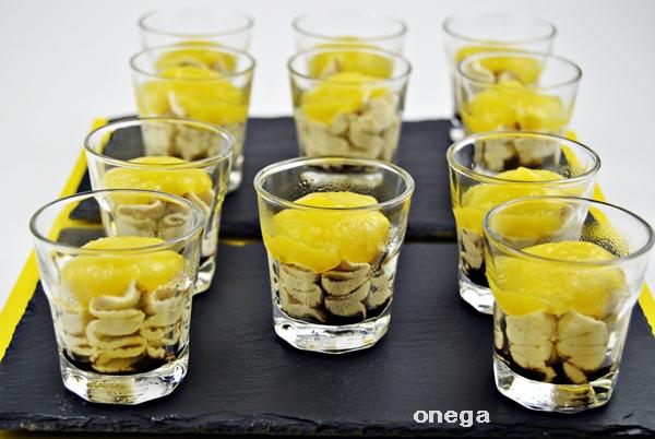vasito de mousse de foie y mango.1JPG