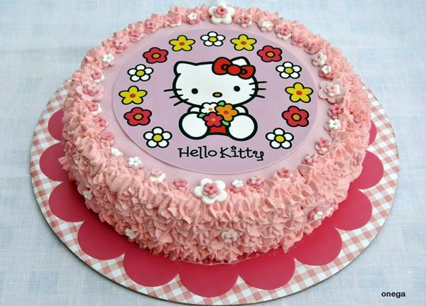 Tarta Hello Kitty De Cumpleanos Infantil Facil Rapida Y Bonita - Tartas-de-cumpleaos-sencillas-y-originales
