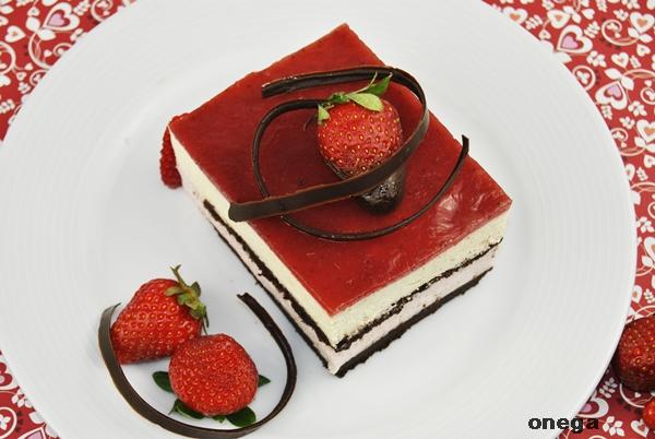 Tarta De Mousse De Chocolate Blanco Con Fresa Magia En Mi Cocina