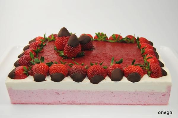 Tarta Mousse De Fresas Y Mousse De Yogurt Magia En Mi Cocina