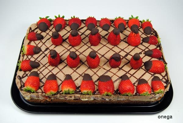 Tarta De Fresas Y Mousse De Chocolate Magia En Mi Cocina Recetas
