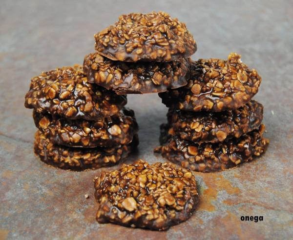 cookies de avena, cacahuete y chocolate sin horno 4