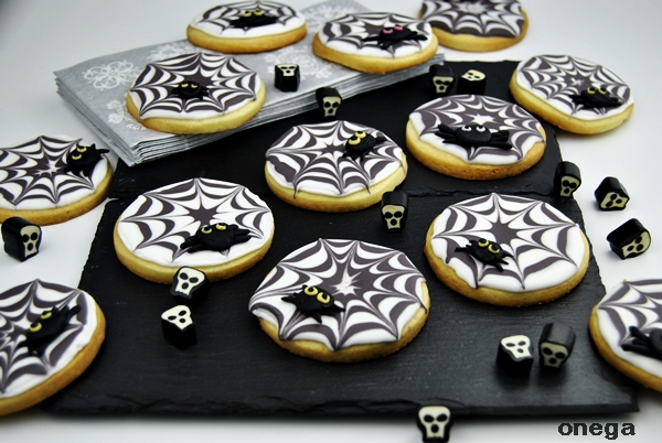 galletas-tela-de-arana-de-halloween