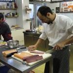 Clases de Sushi en Bilbao con Mikel Población