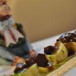 Receta de alcachofas rellenas de mollejas