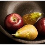 Receta de tarta de peras y manzanas con jengibre