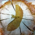Torta de cambur venezolana