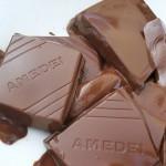 Tostadas de crema y bizcocho de chocolate