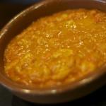 Begihaundi guisado con salsa marinera y patata