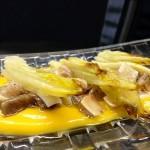 Receta de endibias con oreja y patata dulce
