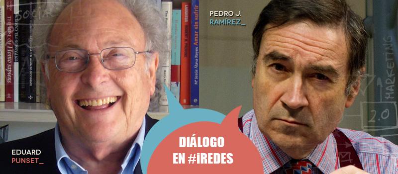 Punset y Pedro J. Ramírez