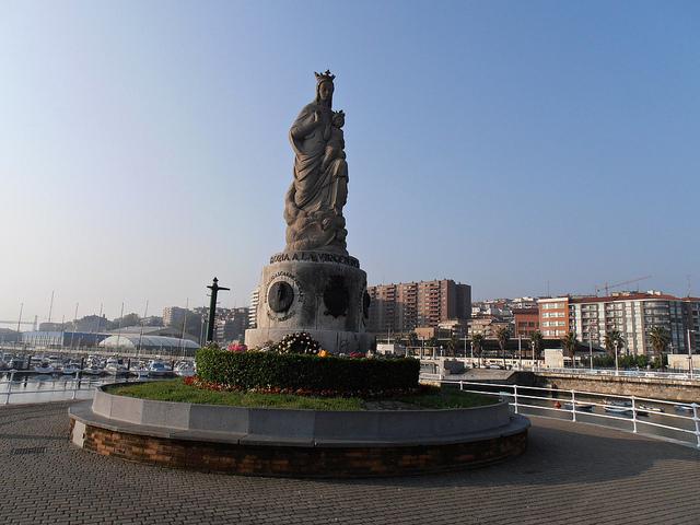 Imagen de la Virgen del Carmen. Foto:  Jose Luis Atutxa