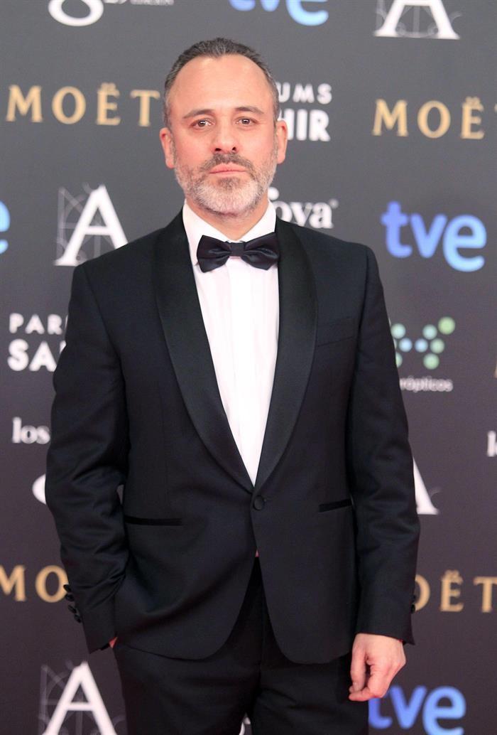 Javier Gutiérrez en la gala de los Goya 2015